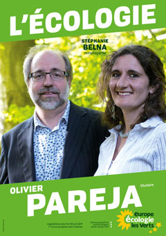candidat écolo Olivier Pareja