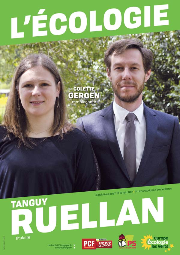 candidat écolo Tanguy Ruellan