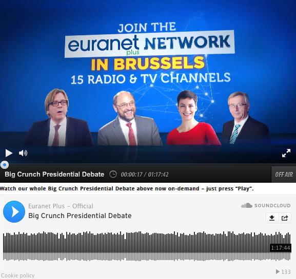 Débat télévisé Élections Européennes 2014