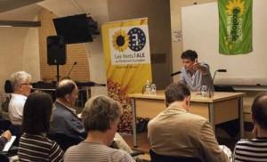 Pascal Durand present ses actions au Parlement européen